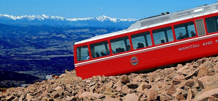 Broadmoor Pikes Peak Cog Railway | The Denver Ear
