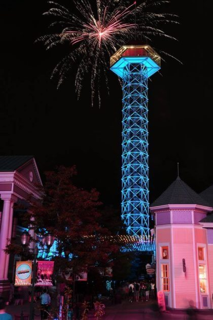 Fireworks Show at Elitch Gardens | The Denver Ear