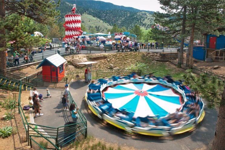 16 best undiscovered amusement parks in colorado the for Lawson adventure cabins