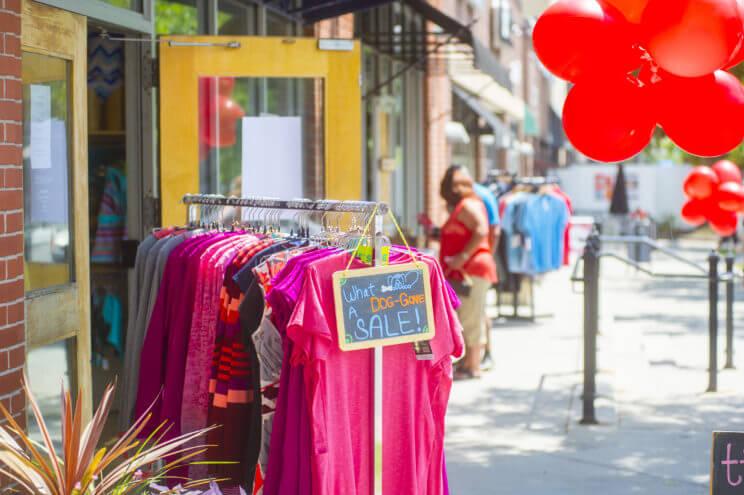 Cherry Creek North Sidewalk Sale   The Denver Ear
