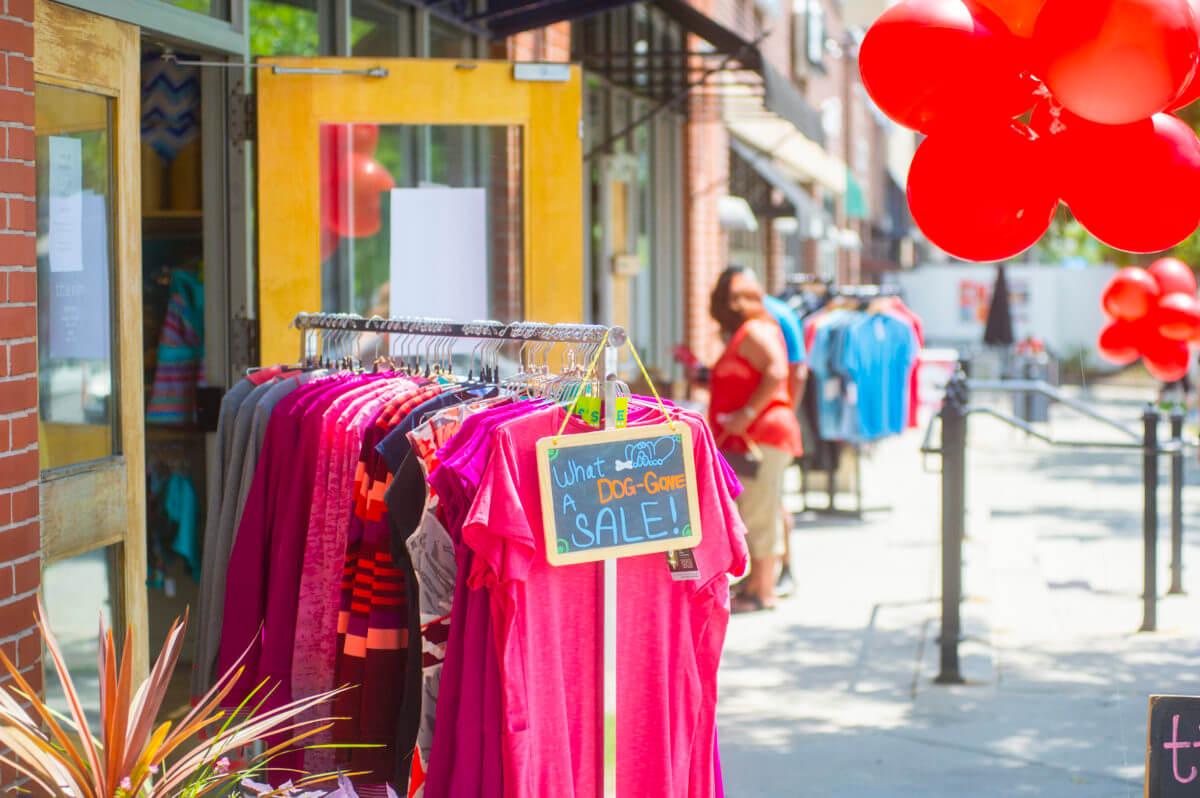 Cherry Creek North Sidewalk Sale | The Denver Ear