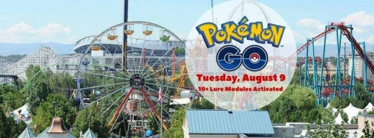 Pokémon GO Lure-A-Thon at Elitch Gardens | The Denver Ear