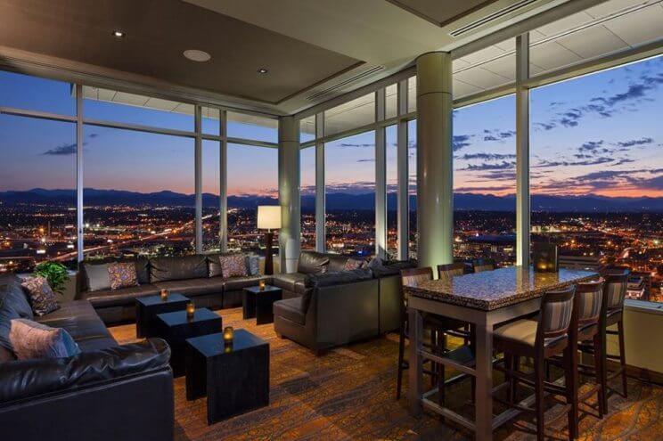 Peaks Lounge Hyatt Regency Denver at Colorado Convention Center | The Denver Ear
