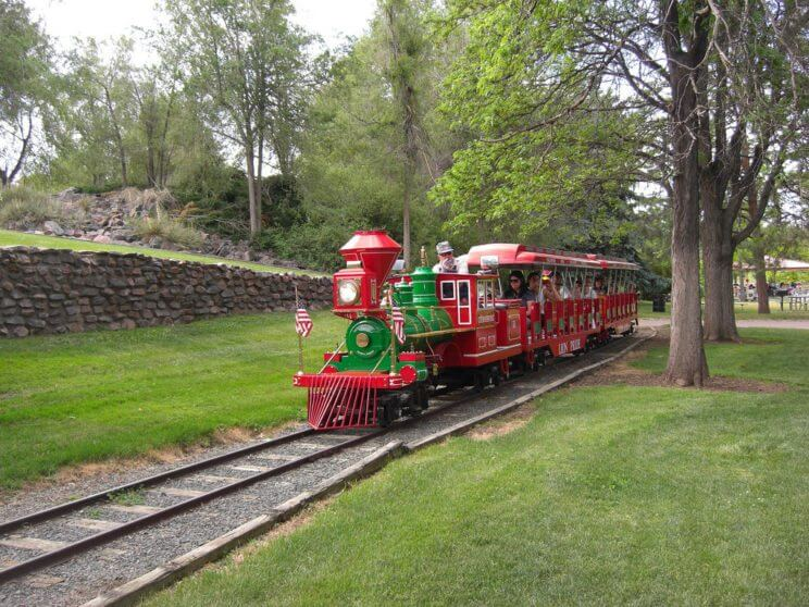 Belleview Park's Miniature Train Ride | The Denver Ear