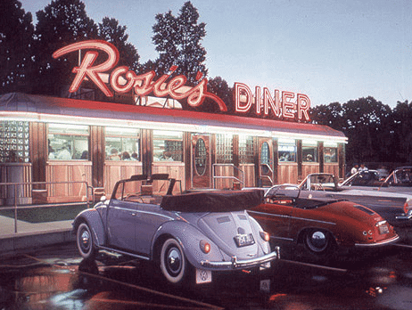 Rosie's Diner Old Photo | The Denver Ear