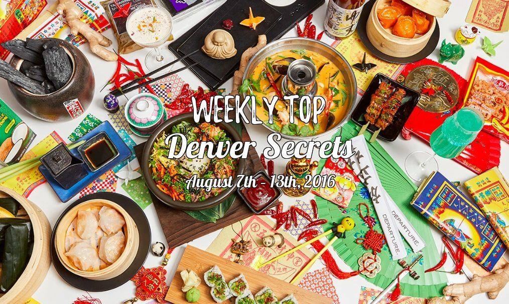 Weekly Top Denver Secrets August 7th – 13th, 2016 | The Denver Ear