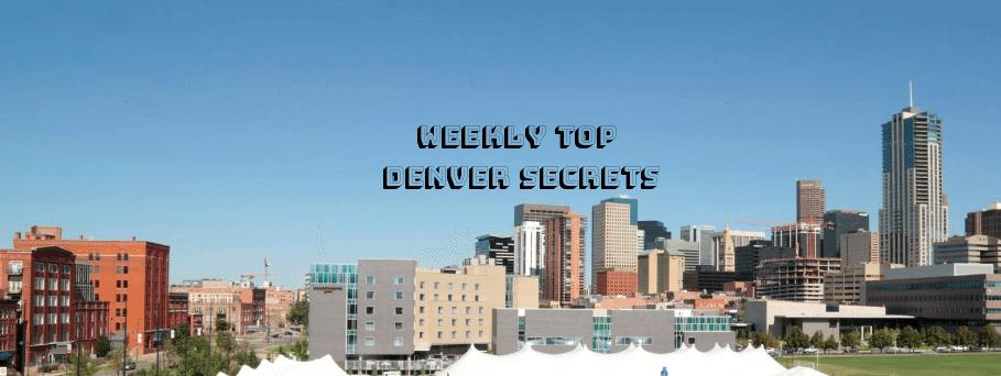 Weekly Top Denver Secrets | September 2016 Week 2 | The Denver Ear