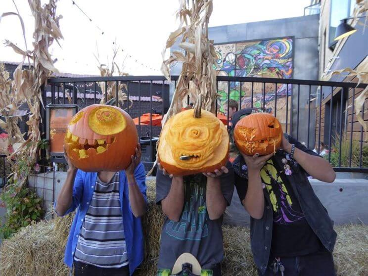 Little Man Ice Cream's Pumpkin Carving & Costume Contest | The Denver Ear