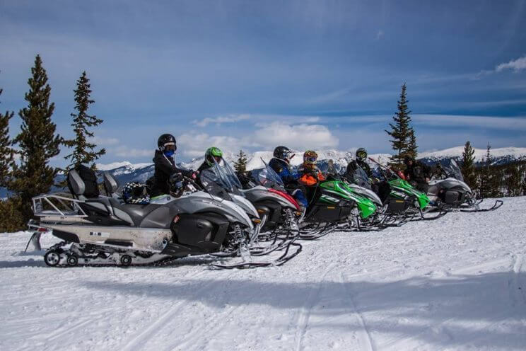 Go on a Snowmobile Tour | Grand Adventures Snowmobile Tours | The Denver Ear