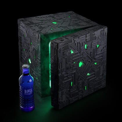 Star Trek Borg Cube Fridge | The Denver Ear