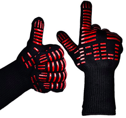 BBQ Cooking Heat-Resistant Gloves | The Denver Ear