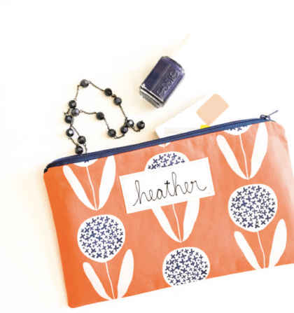 Personalized Zipper Pouch | The Denver Ear