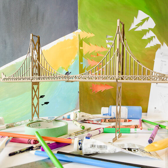 Lionsgate Bridge Model Set | The Denver Ear