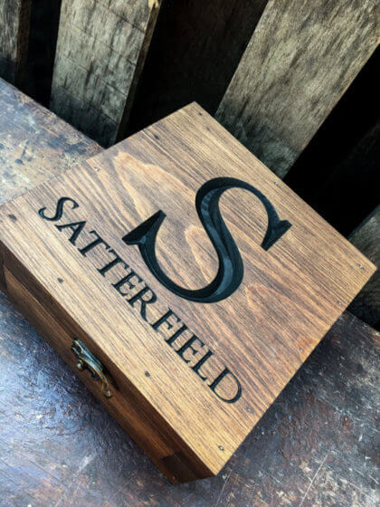 Personalized Keepsake Box | The Denver Ear