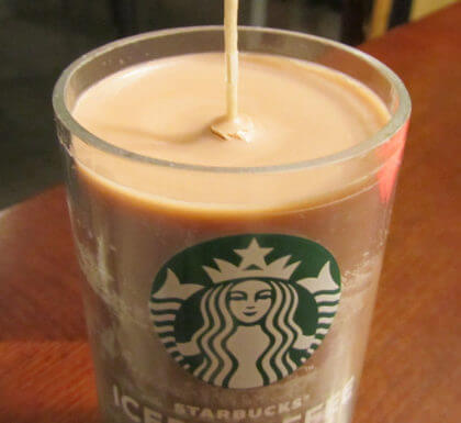 Starbucks Candles | The Denver Ear
