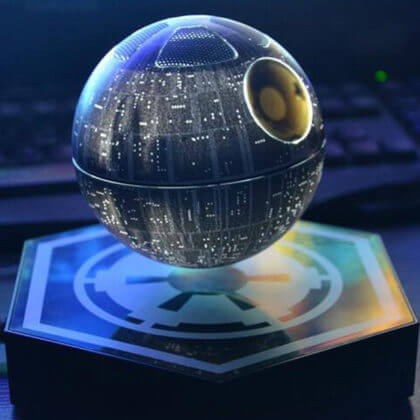 hellosy© Star Wars Death Star Levitating Wireless Bluetooth Speakers | The Denver Ear