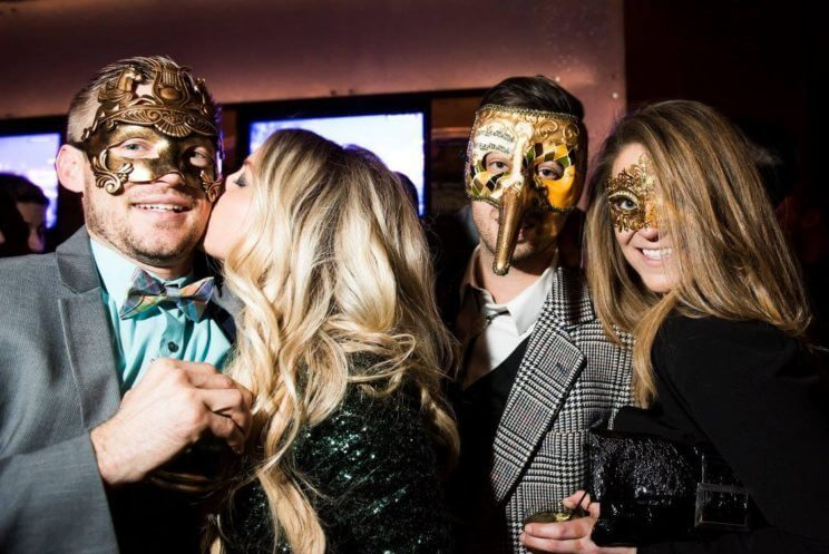 New Year's Eve Masquerade | EDGE Restaurant & Bar | The Denver Ear