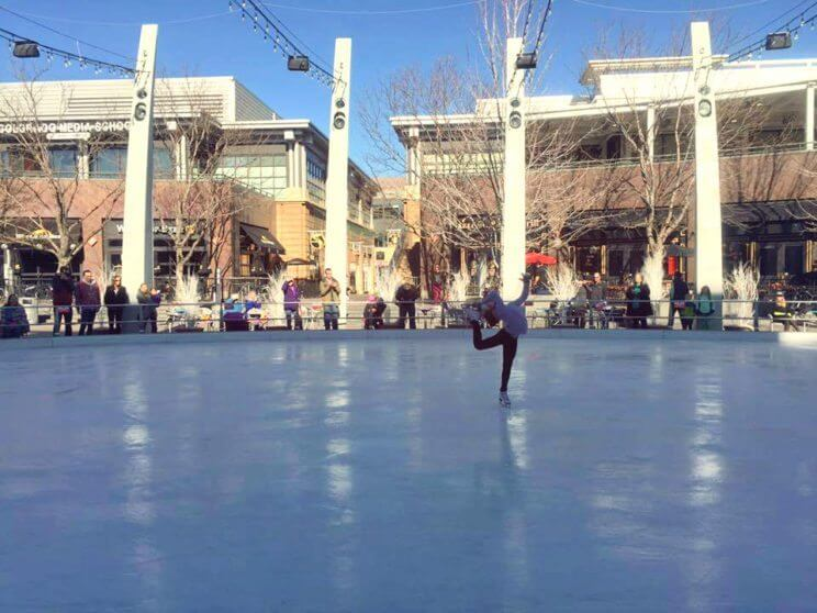 Denver Figure Skating Performance | The Rink at Belmar | The Denver Ear