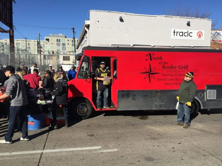 Food Truck Feeding the Homeless at Denver Rescue Mission   The Denver Ear