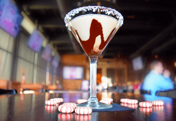 Peppermint Godiva Chocolate Martini | ViewHouse | The Denver Ear