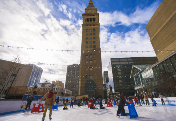 Downtown Rink at Skyline Park | The Denver Ear