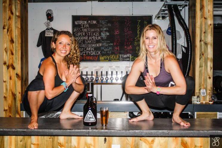 """Breathe, Bend & Brew"" | Alpine Dog Brewing Company & Après Yoga | The Denver Ear"