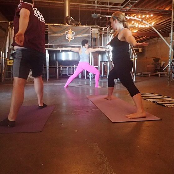 Yoga at Diebolt Brewing Company | The Denver Ear