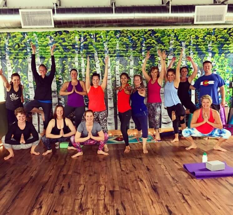Class + A Glass: Yoga at the Whistling Hare Distillery | The Denver Ear