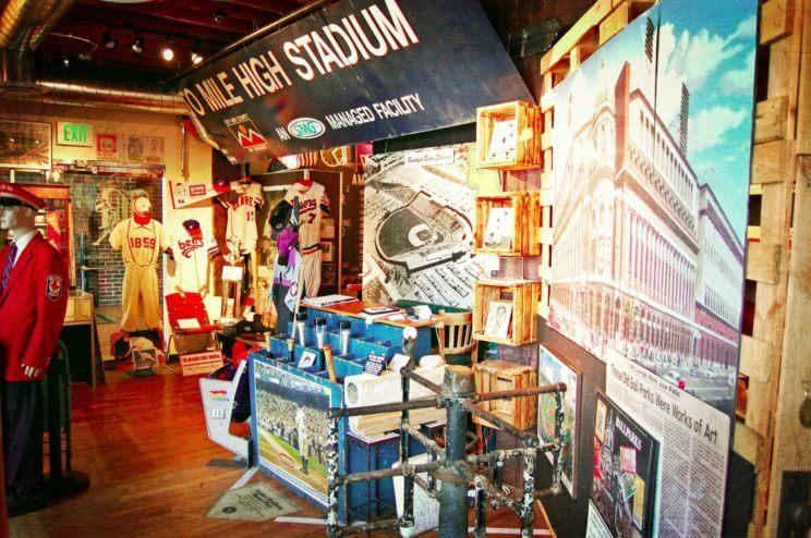 National Ballpark Museum   The Denver Ear