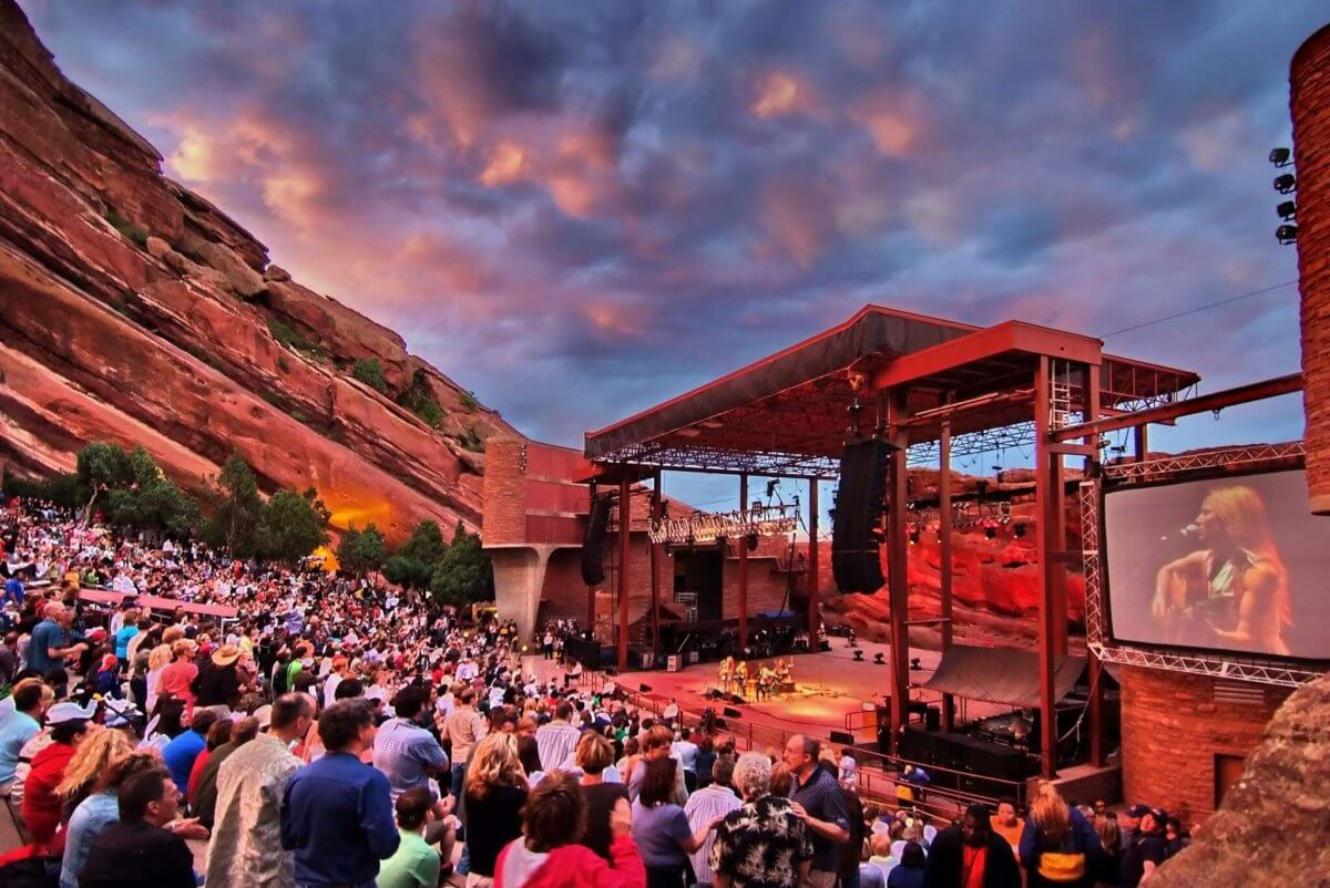 Red Rocks Park and Amphitheatre | The Denver Ear
