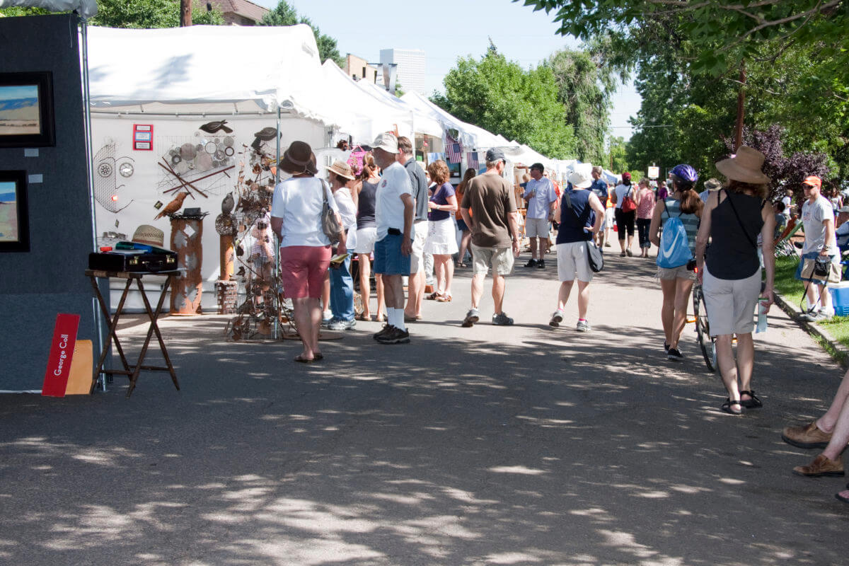 Denver's Summer Art Market | The Denver Ear