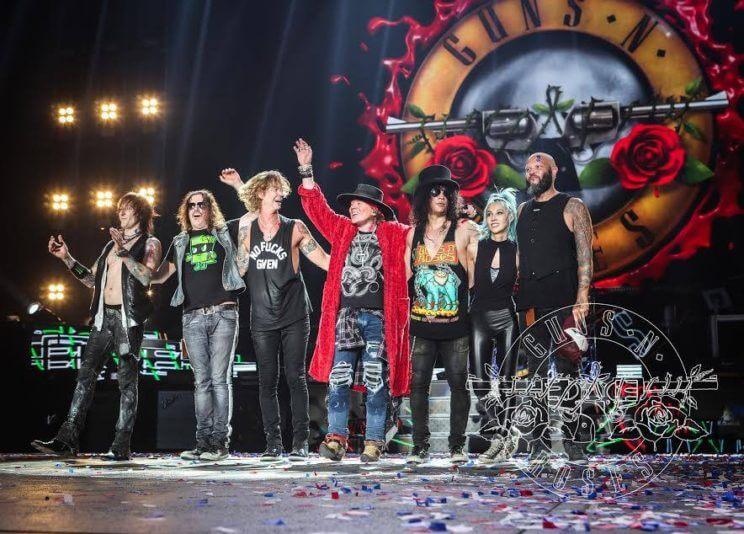 Guns N Roses Tour  Denver Axl Rose