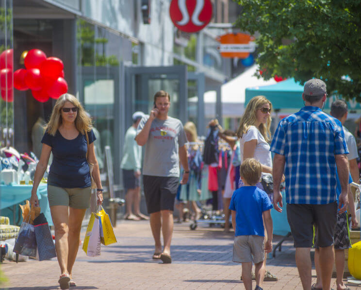 Cherry Creek North Sidewalk Sale | The Denver Ear