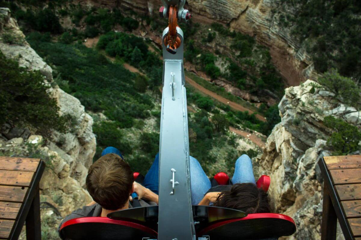 10 of the Scariest Thrill Rides in Colorado