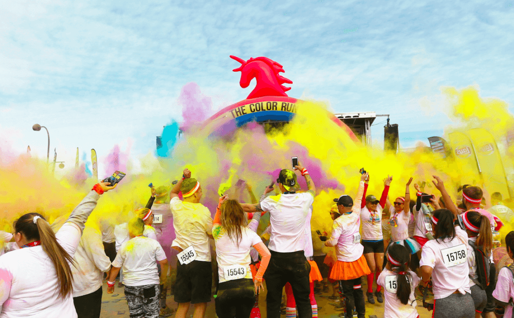Jun 30,  · The Color Run has hosted more than global events with more than four million participants and is committed to staging safe and secure events. How do the post-race color throws work? At the Finish Festival, the crowd will be involved in a color throw every 15 minutes to welcome new runners coming in.