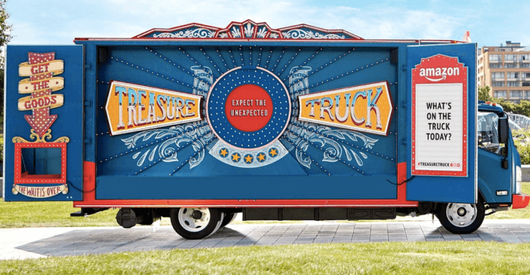 Amazon's Treasure Truck is Rolling Into Denver | The Denver Ear