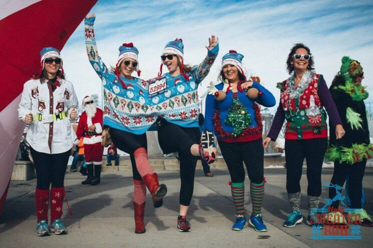 The Ugly Sweater Run | The Denver Ear