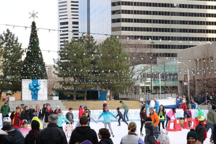 Downtown Denver Rink at Skyline Park | The Denver Ear