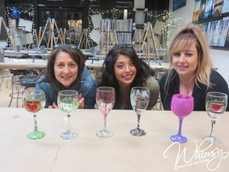 Whimsy Paint & Sip Art Studio | The Denver Ear