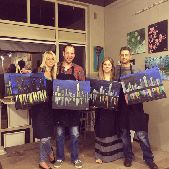 Sipping N' Painting Hampden | The Denver Ear