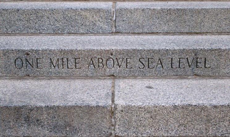Mile High Steps   The Denver Ear