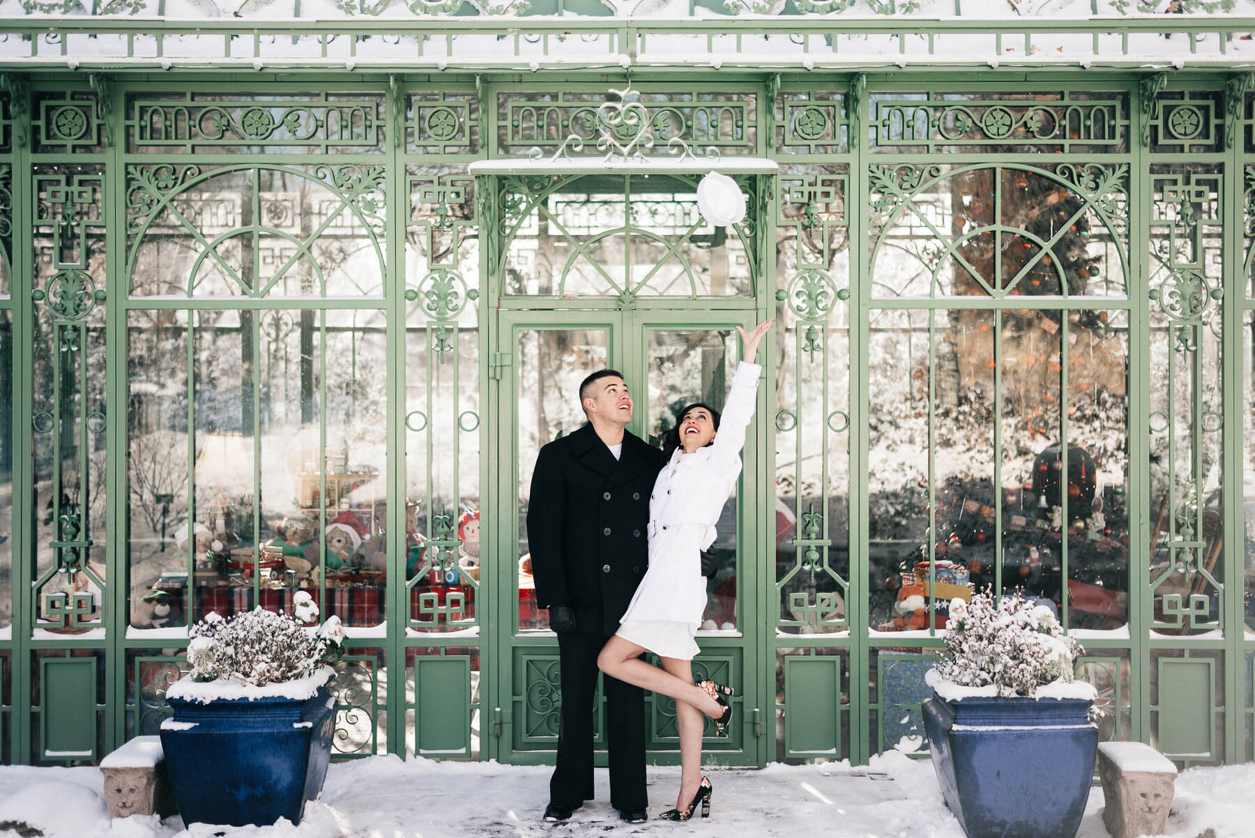 Simply Eloped Denver Botanic Gardens | The Denver Ear