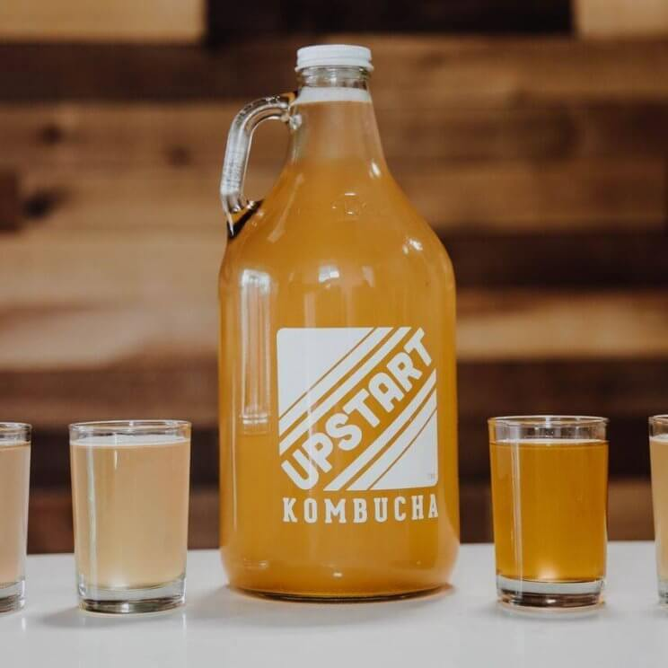 Upstart Kombucha | The Denver Ear