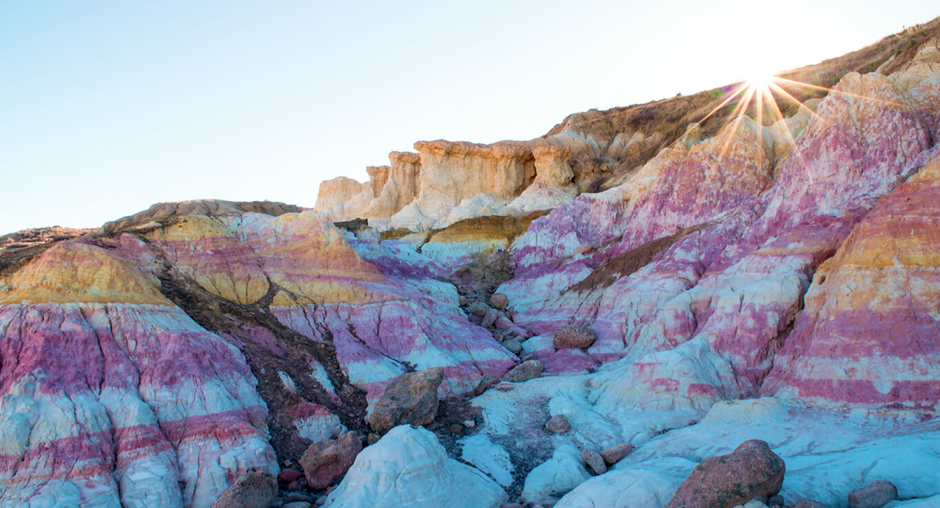 Paint Mines Interpretive Park | The Denver Ear