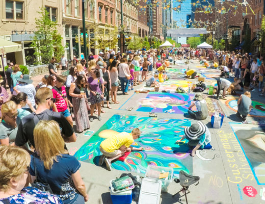 Denver Chalk Art Festival | The Denver Ear