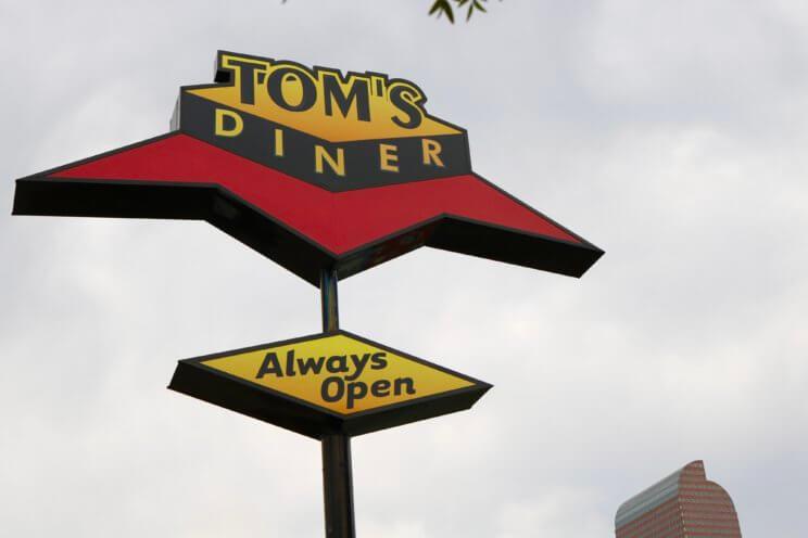 Tom's Diner | The Denver Ear