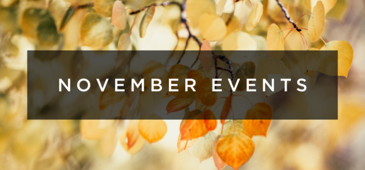 November Events in Denver, CO